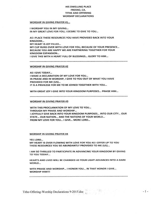 HDPF-Declaration